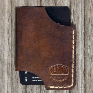 "DANDY Visitenkarten-Etui ""BC"" brown"