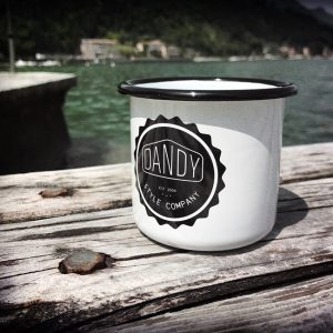 "DANDY Emailtasse ""CUP No.8"""