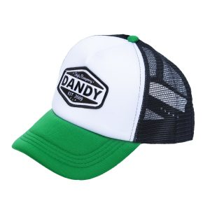 Original Trucker Cap, black/white/green