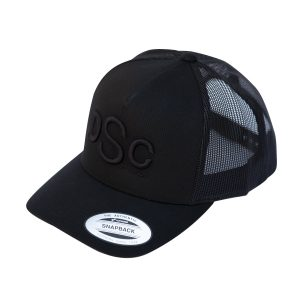 Retro Trucker Cap, black in black