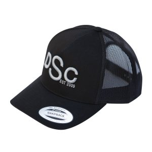 Retro Trucker Cap, black