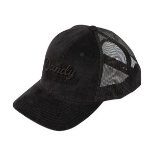 Retro Trucker Cap Kord, black