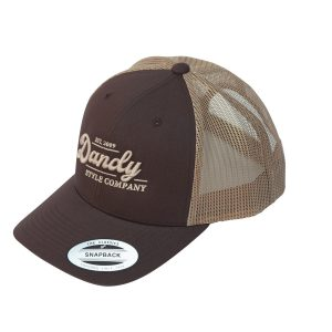 Retro Trucker Cap, brown/khaki