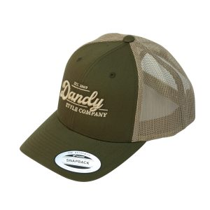 Retro Trucker Cap, moosgreen/khaki